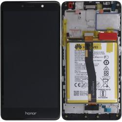 Écran complet Honor 6X Huawei Noir 02351BNB