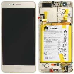 Écran complet Honor 8 Huawei Gold 02350USE