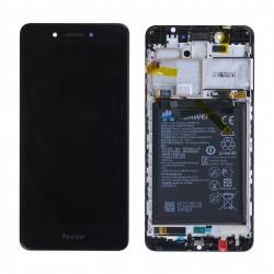 Écran complet Honor 6C Huawei Noir 02351FUV