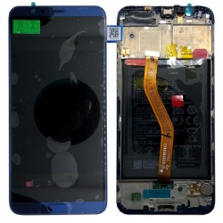 Écran complet Honor View 10 Huawei Bleu 02351SXB