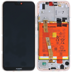 Écran complet P20 Lite Huawei Rose 02351VUW