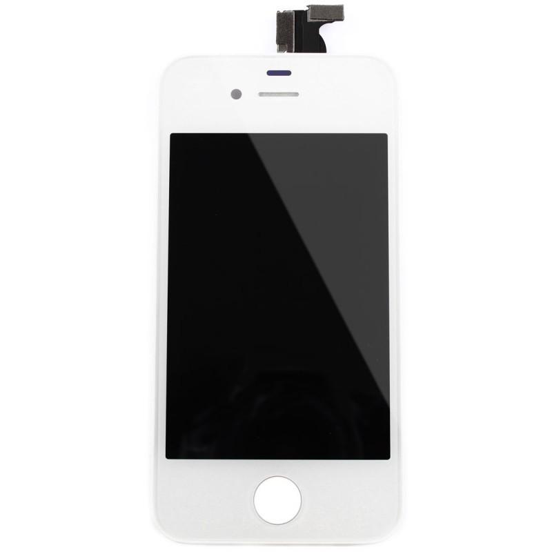 gsmclinique ecran lcd vitre tactile iphone 4s noir apple. Black Bedroom Furniture Sets. Home Design Ideas