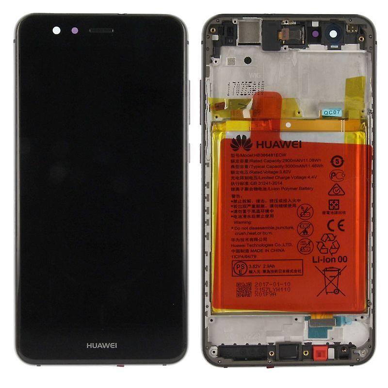 Ecran complet P10 Lite Huawei - Noir - Pièce Originale - 02351FSE - Service Pack - Gsmclinique
