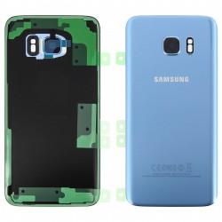 Face Arrière G935 S7 Edge G935F Samsung Bleu Corail GH82-11346F