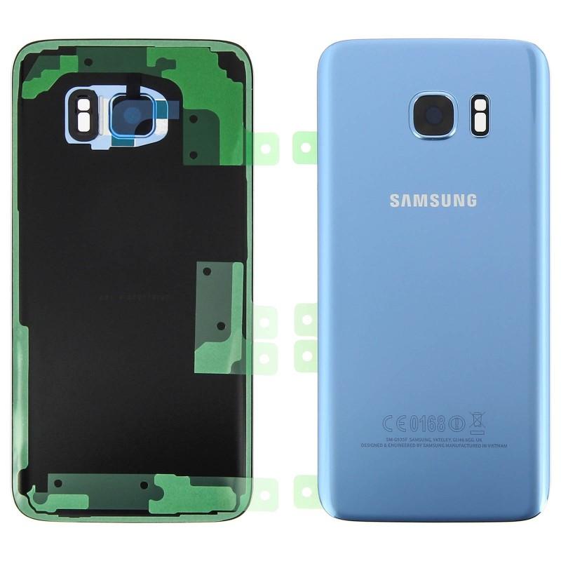 face arri re compl te galaxy s7 edge originale g935f bleu corail gh82 11346f service