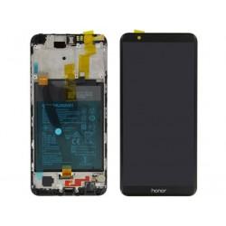 Écran complet Honor 7X Huawei Noir 02351PUU