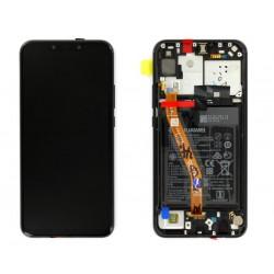 Écran complet P Smart Plus Huawei Noir 02352BUE
