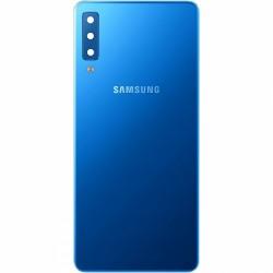 Face Arrière Galaxy A7 2018 (A750F) Samsung Bleue GH82-17833D