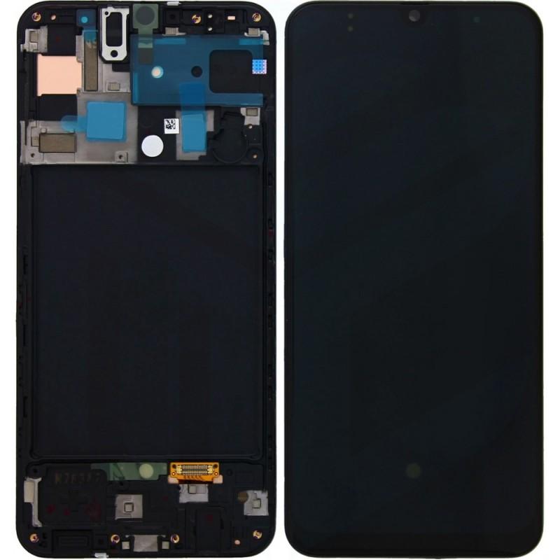 Écran complet A50 A505 Samsung Noir GH82-19204A