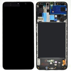 Écran complet A70 A705 Samsung Noir GH82-19787A