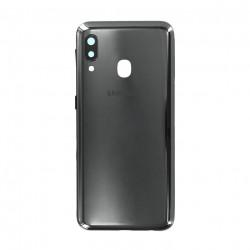 Face arrière A20 A202F Samsung Noire GH82-20125A