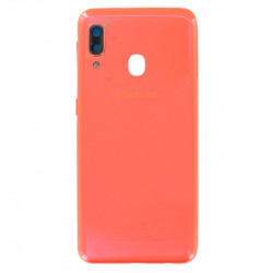 Face arrière A20 A202F Samsung Orange GH82-20125D