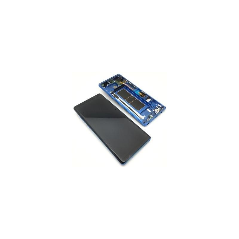 gsmclinique ecran complet note 8 n950 samsung bleu