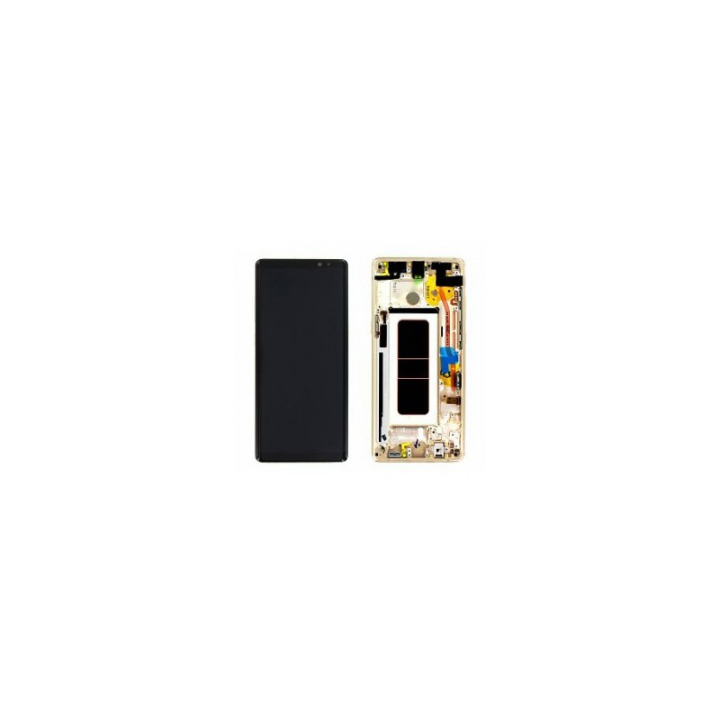 ecran complet samsung galaxy note 8 n950f gold samsung pack gh97 21065d gsmclinique